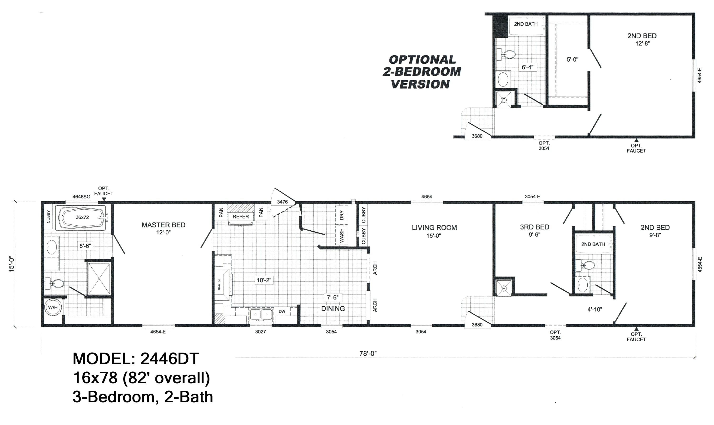 19 lovely cavalier mobile home floor plans