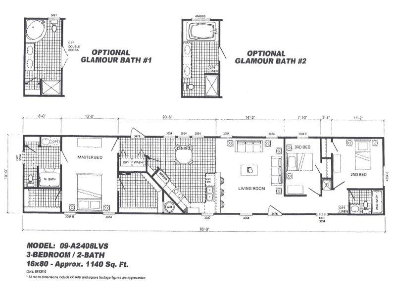 2006 cavalier mobile home floor plans