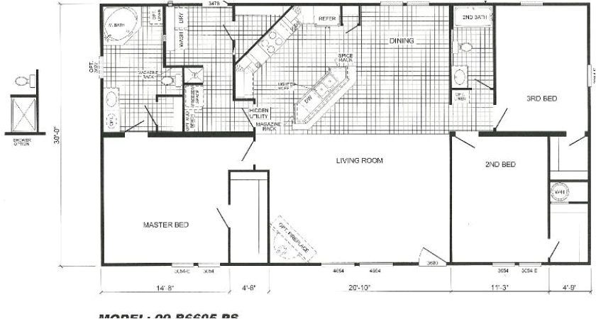 the 17 best cavalier mobile home floor plans