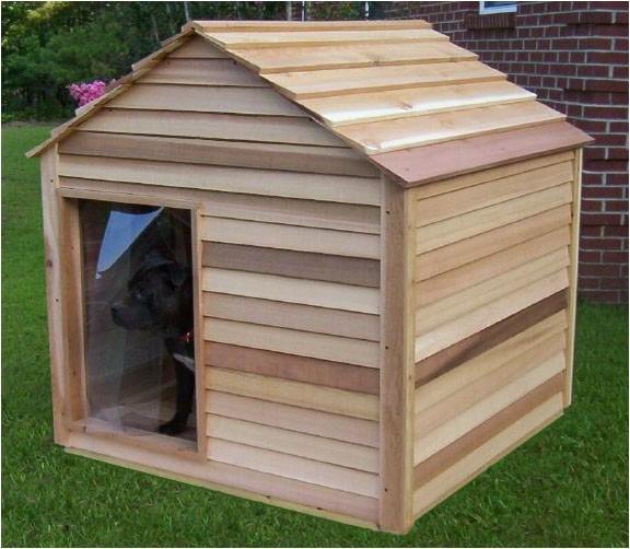 extra large cedar dog house