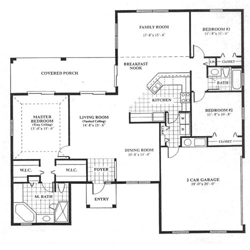 cedar home floor plan