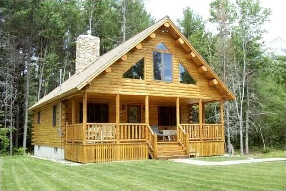 custom 00 754 log cabin plan