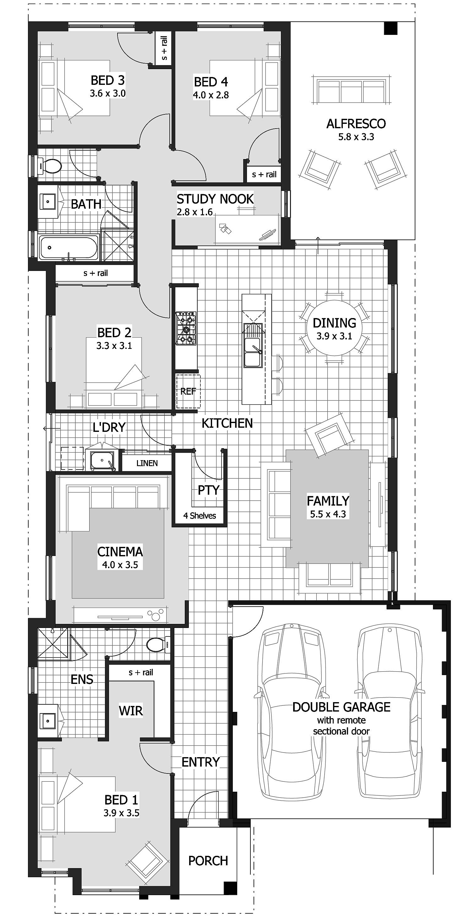 12 metre wide home designs