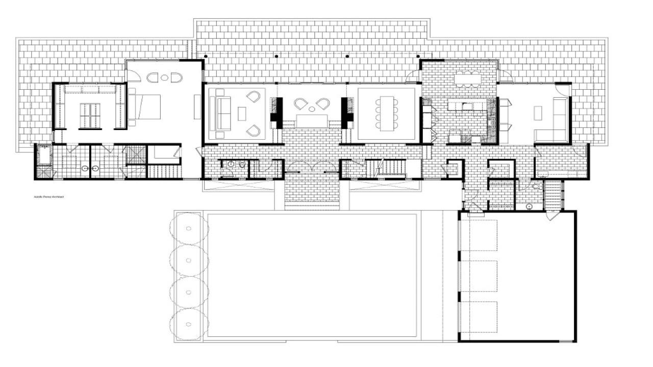 Century Homes Floor Plans Mid Century Modern Home Floor Plans