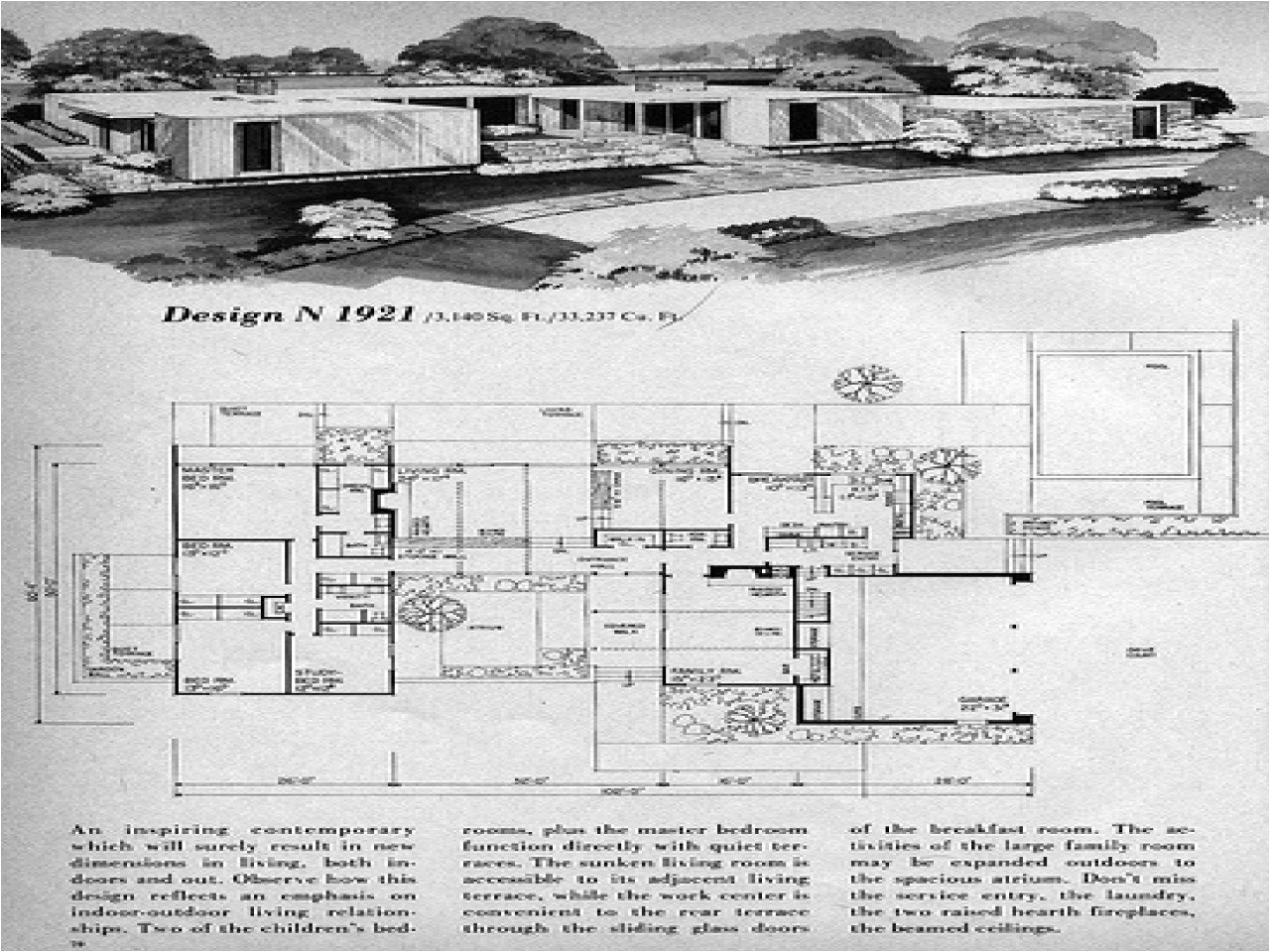 cc816a8ee42b4c29 prairie modern homes mid century modern house floor plan