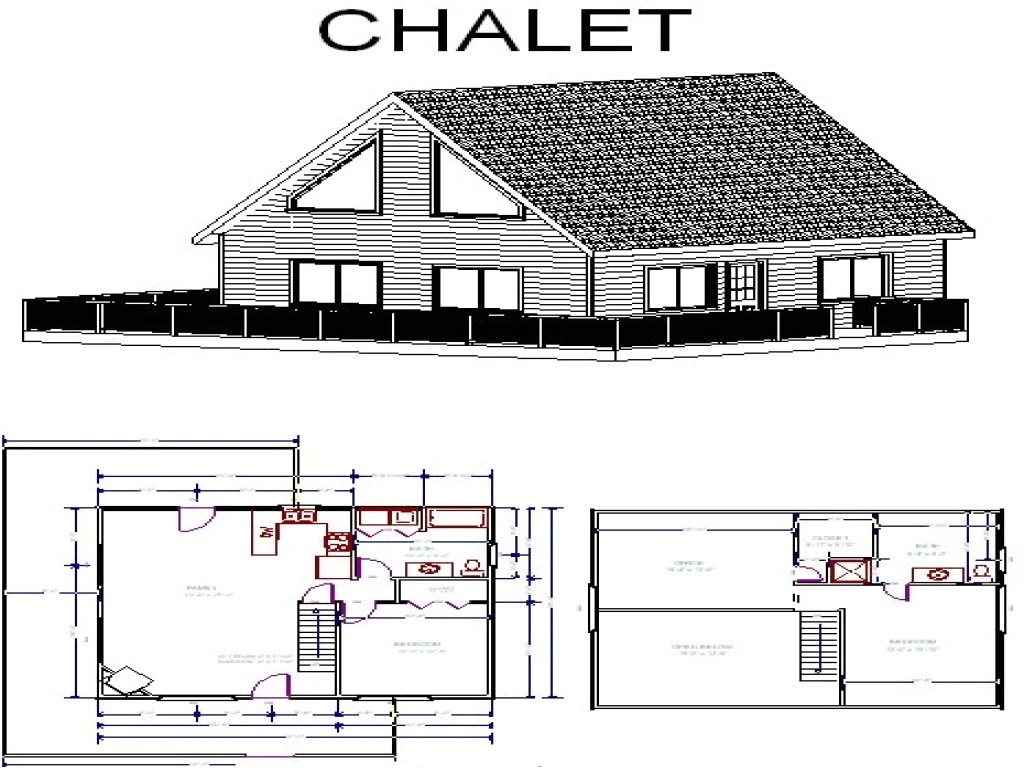 49c69a637bfbcb48 chalet cabin plans small chalet floor plans