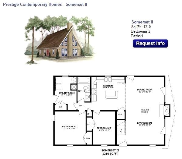 Chalet Home Floor Plan Floor Plan 5 Chalet Showcase Homes Of Maine Bangor Me