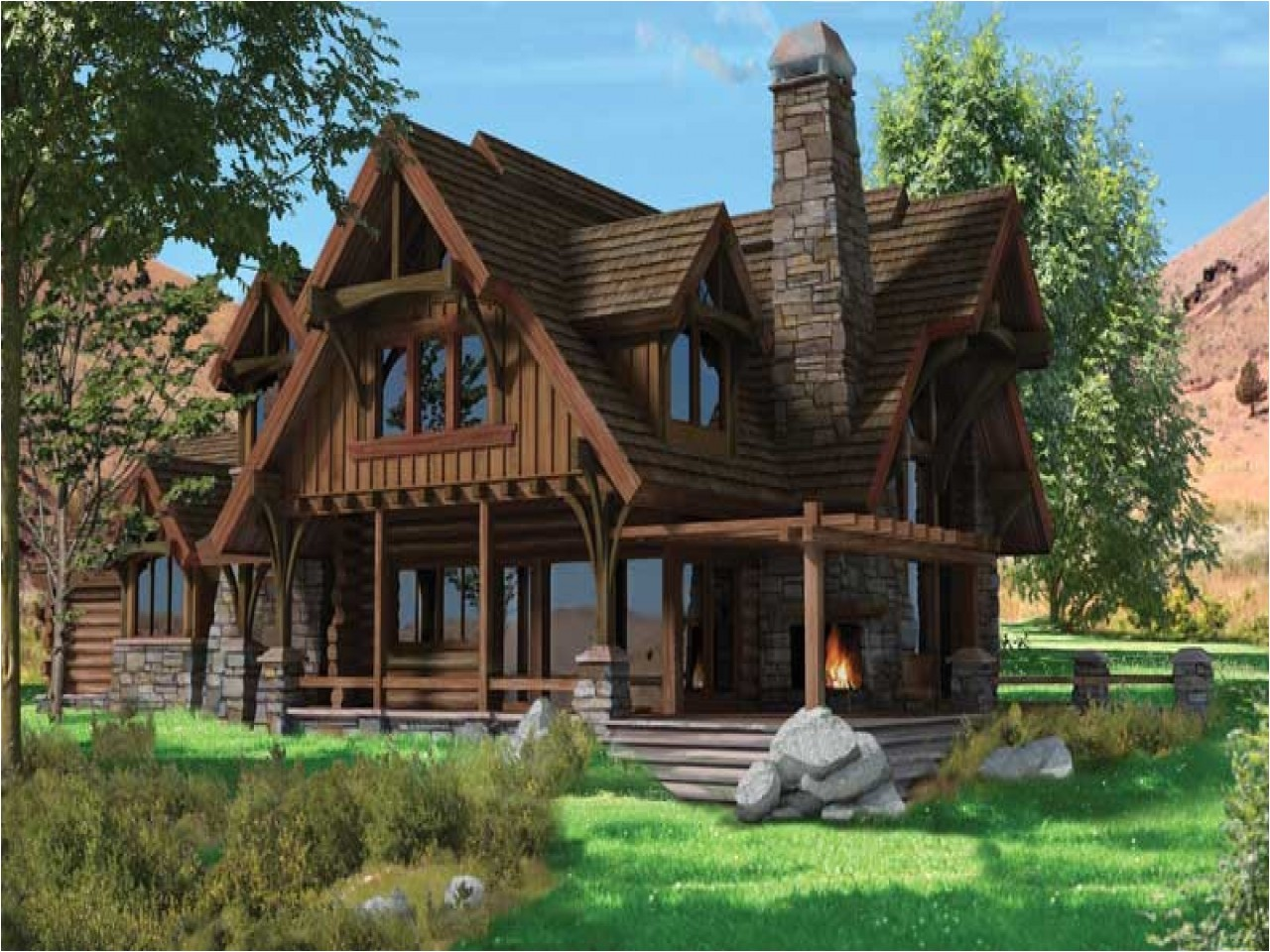 ac8bf4fa73b95e72 chalet style homes with attached garage chalet style log home plans