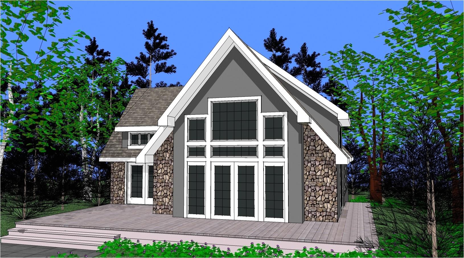 chalet house plans