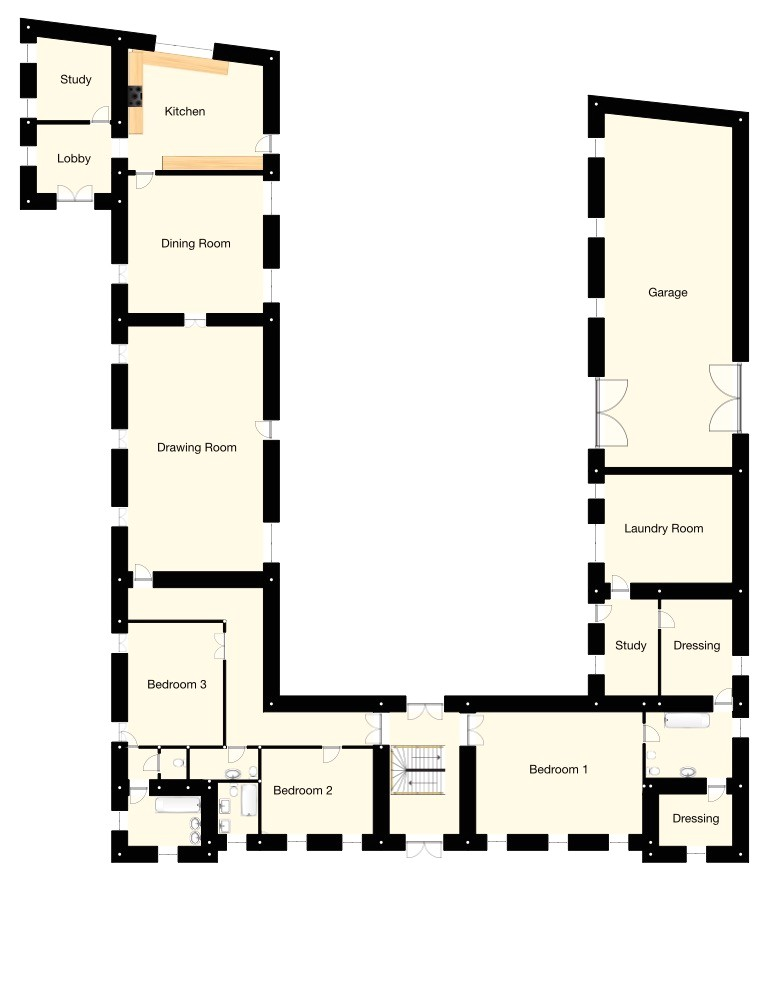 french chateau house floor plans