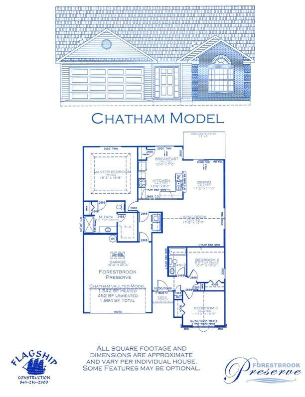 chatham house floor plan