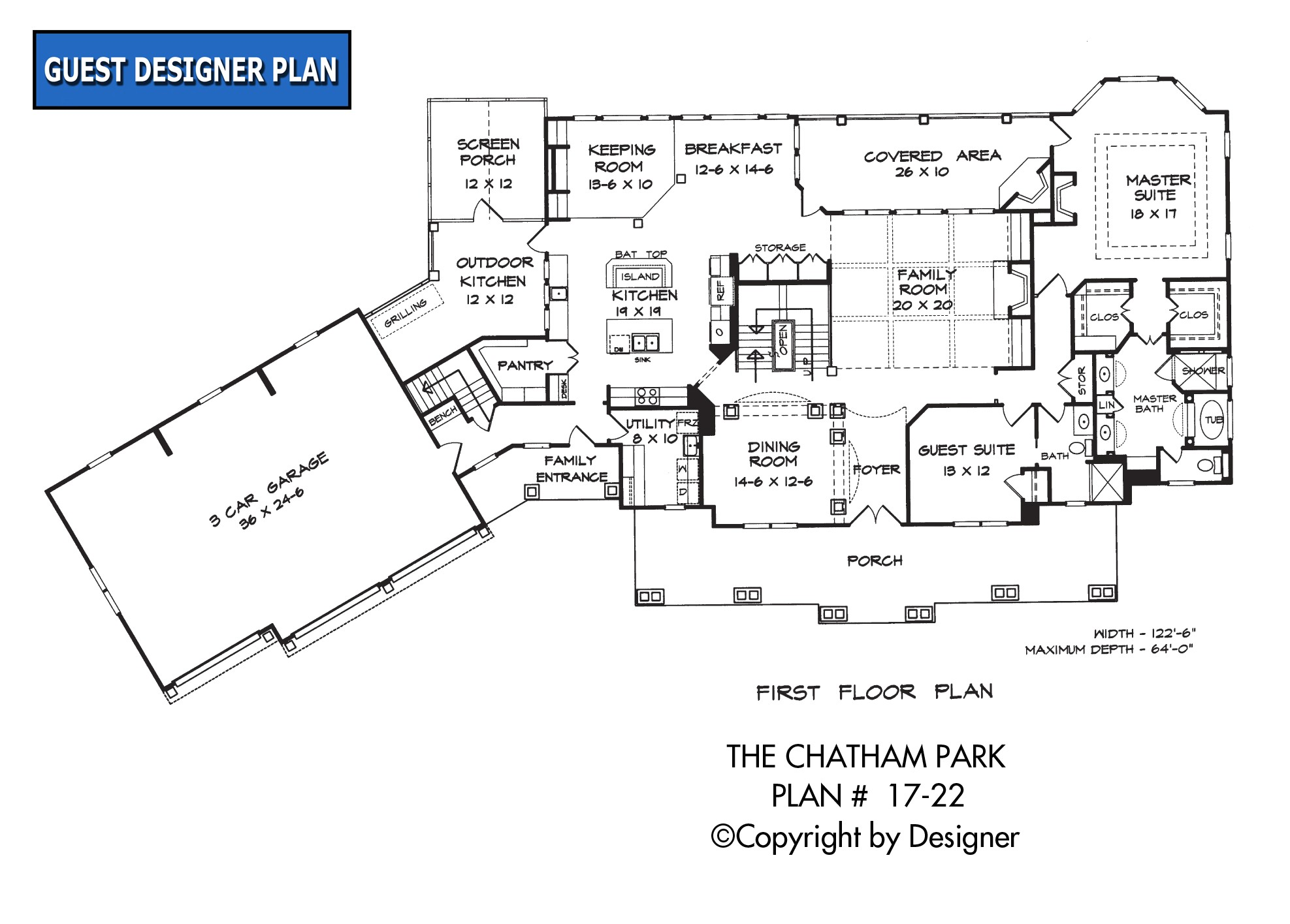chatham park house plan