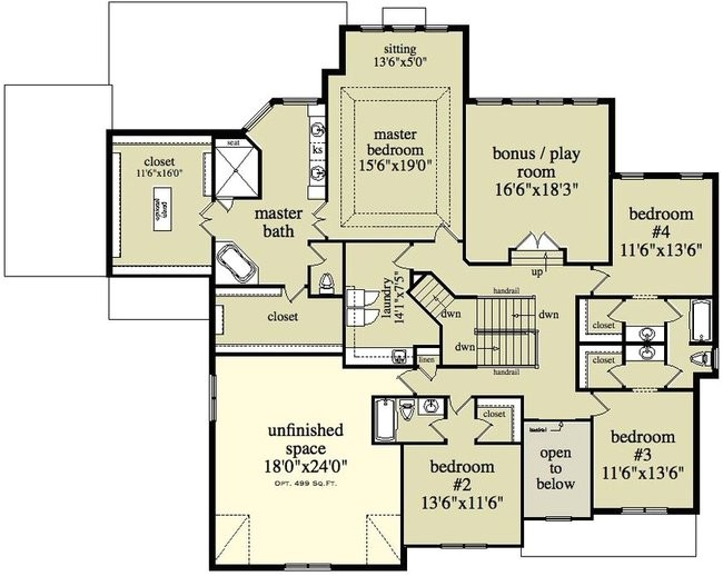 two story colonial house plan alp chatham design group 13