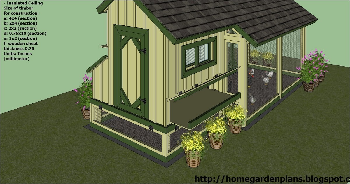 free chicken coop plans for 20 hens