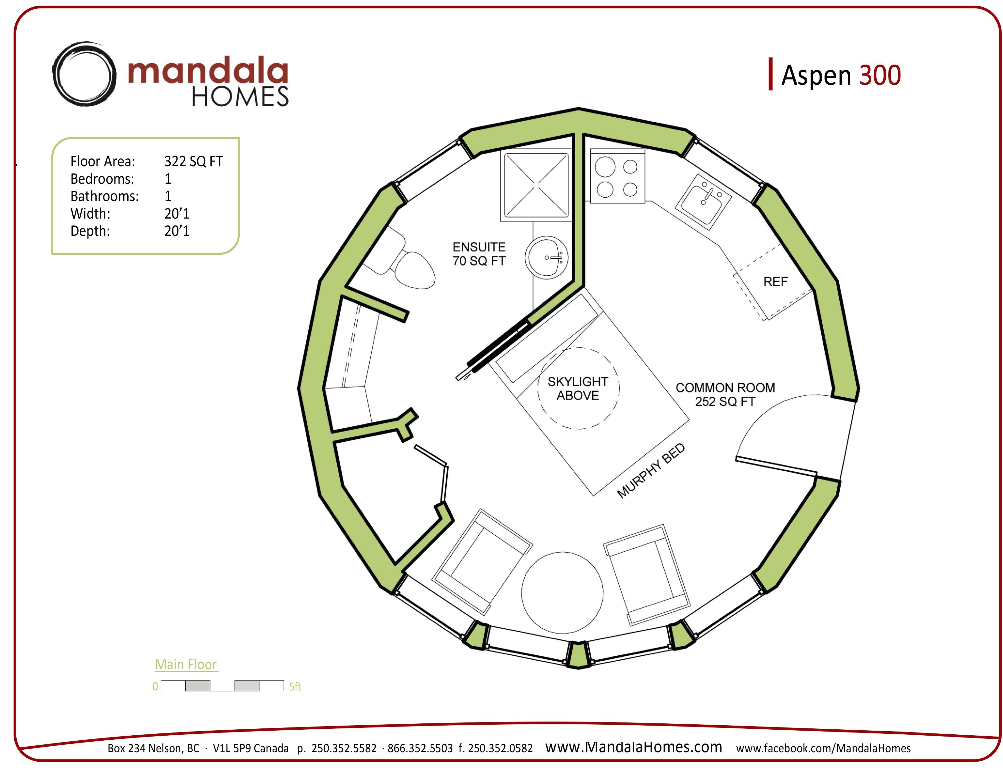Circular Homes Floor Plans aspen Series Floor Plans Mandala Homes Prefab Round