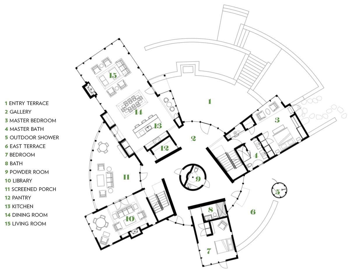 circular home marthas vineyard