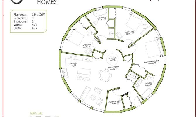 the 23 best circular home floor plans