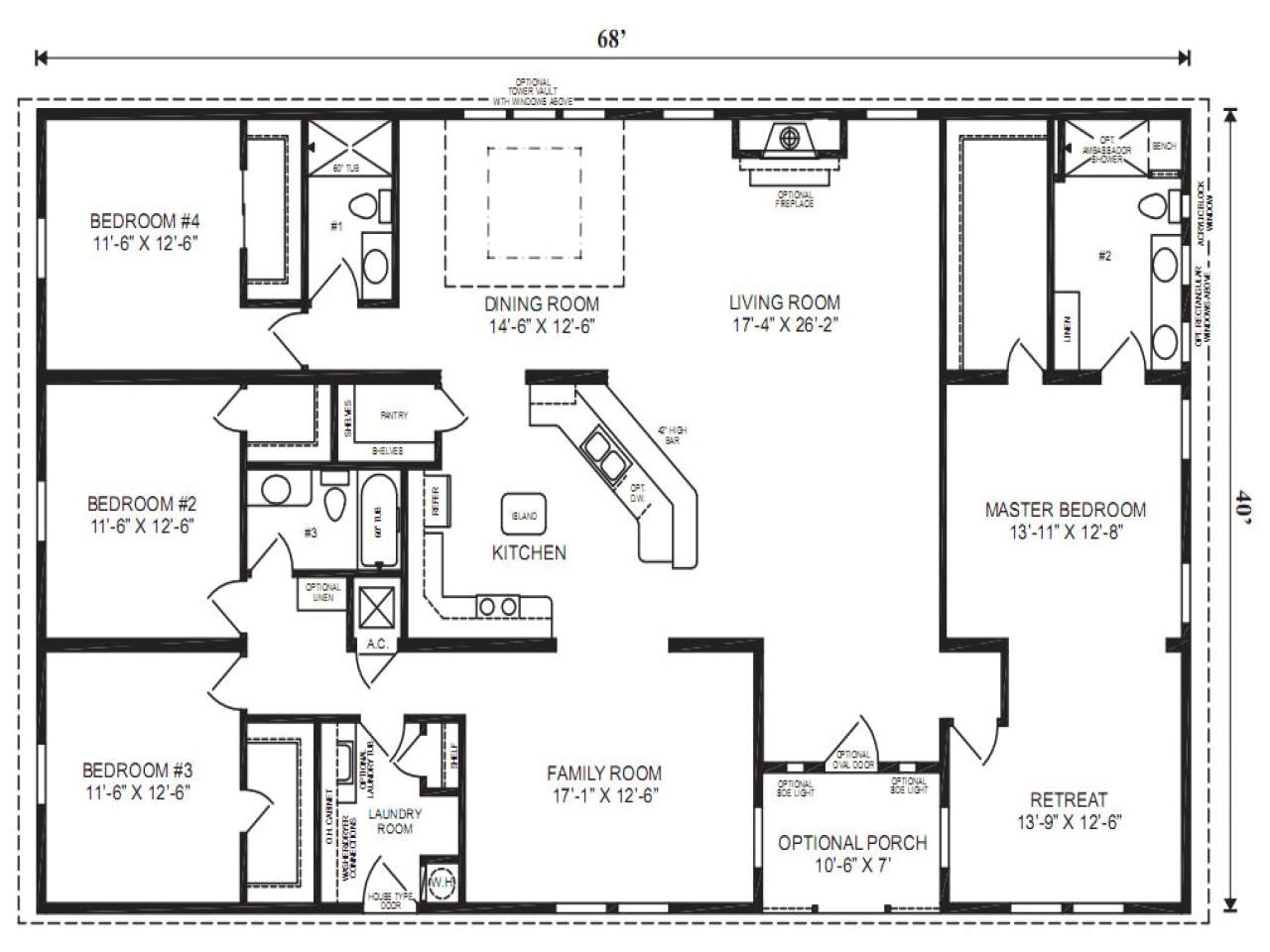 191733299c1e8e7d mobile modular home floor plans clayton triple wide mobile homes