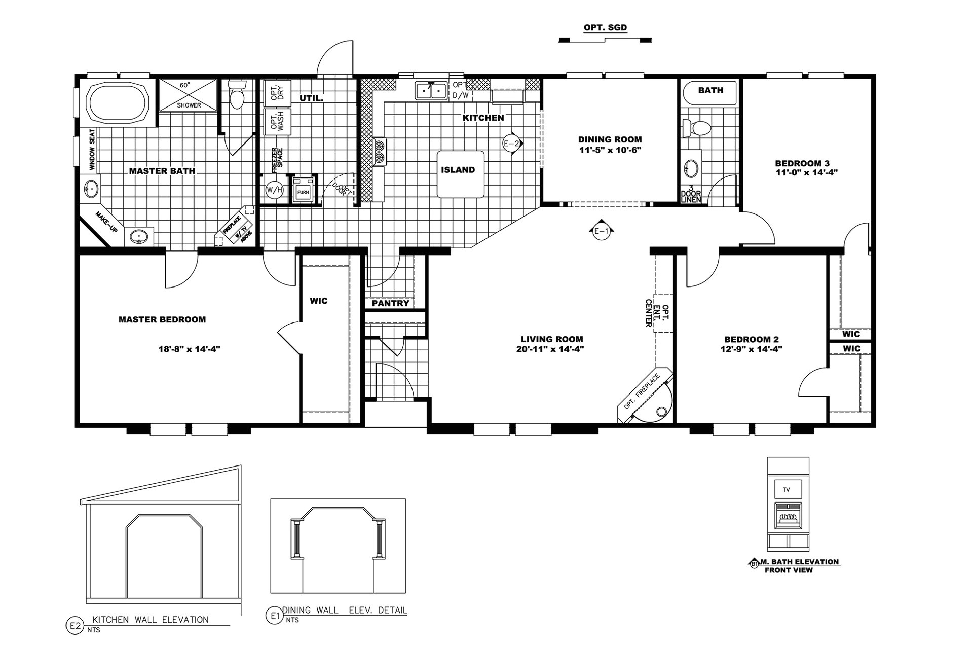 Clayton Manufactured Homes Floor Plans Manufactured Home Floor Plan 2009 Clayton Prince George