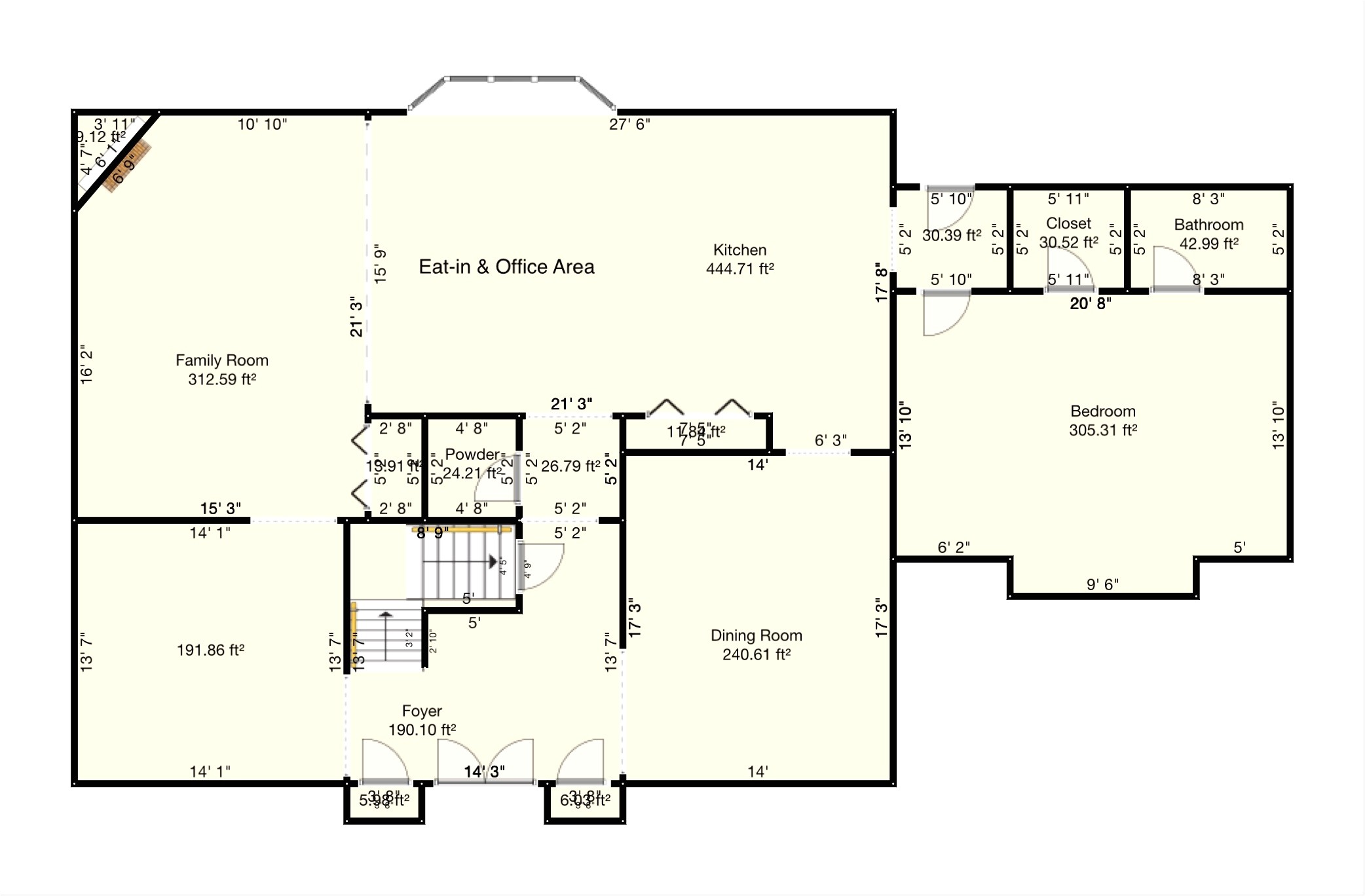 center hall colonial floor plan lovely center hall colonial jf