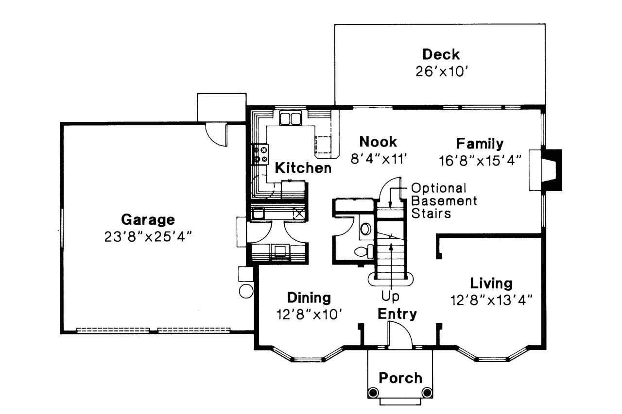 Colonial Homes Floor Plans Colonial House Plans Westport 10 155 associated Designs