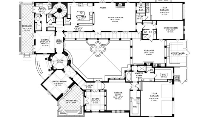 12 simple spanish colonial home plans ideas photo