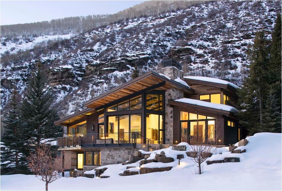 luxury mountain homes colorado exterior rustic with mountain contemporary mountain house contemporary design 6
