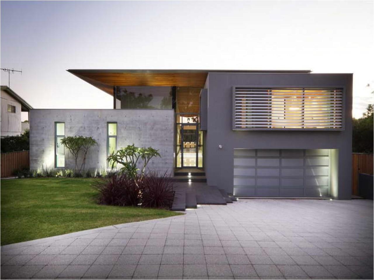 modern concrete house plans