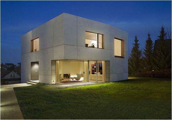 concrete home designs minimalist in germany