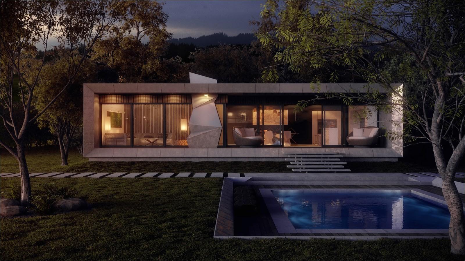 concrete home plans ideas