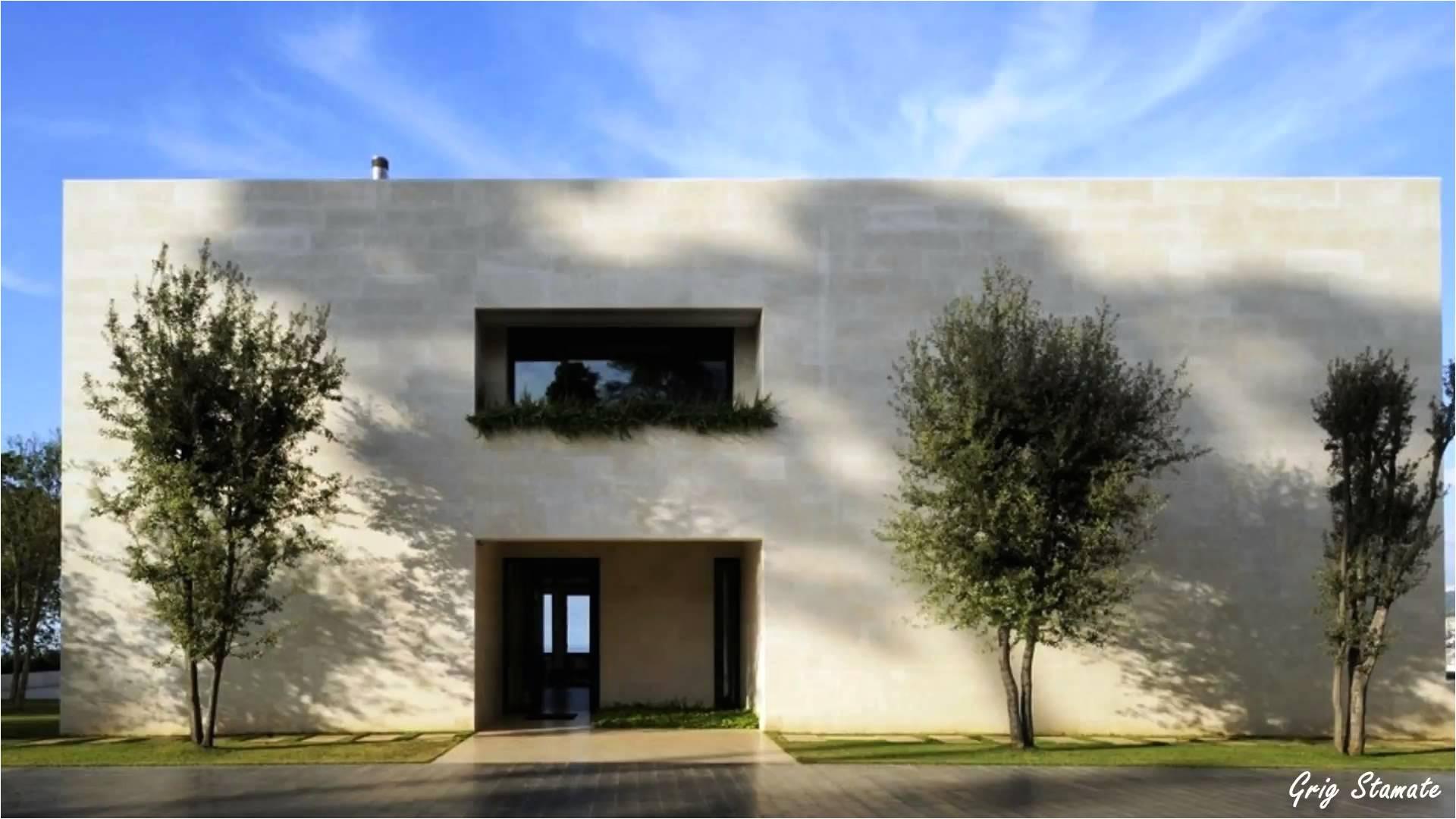 elegant modern concrete home plans