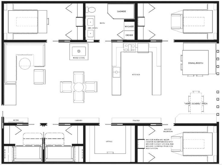 conex house plans