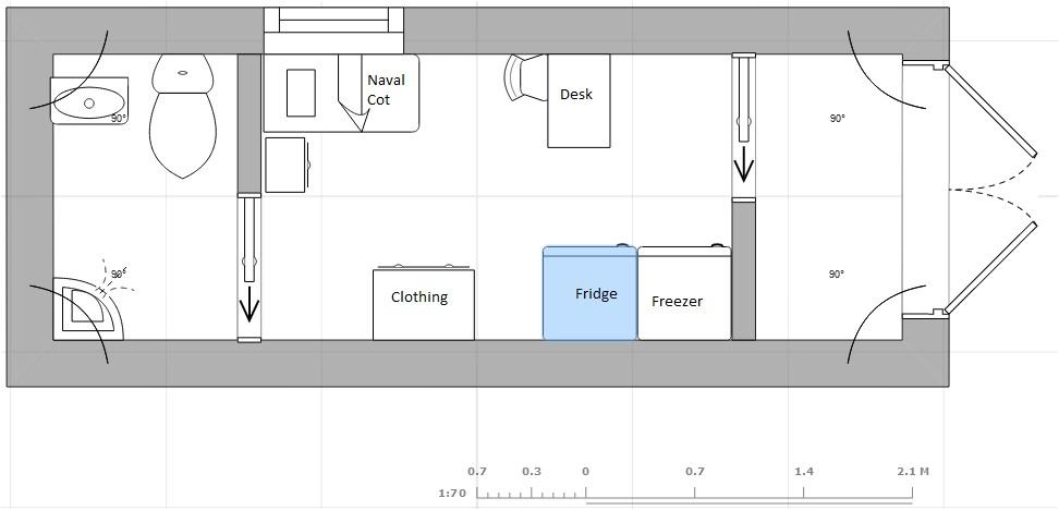 conex container home plans