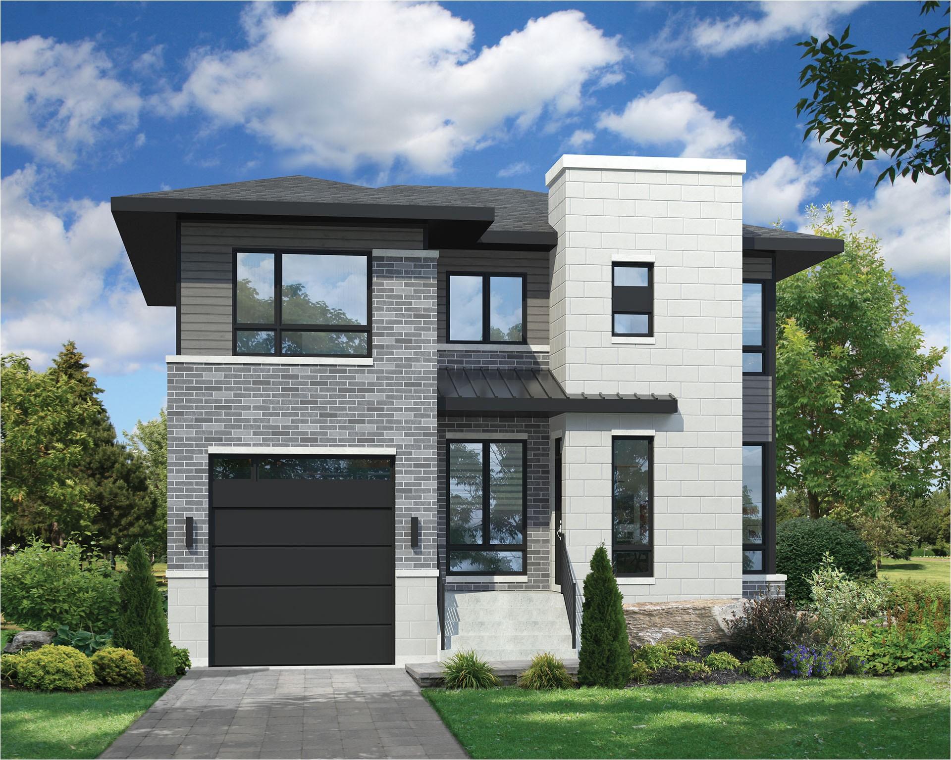 unique 2 storey modern house plans