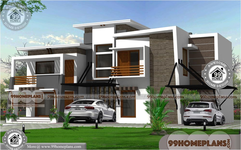 indian contemporary house designs 2450 sq ft plans