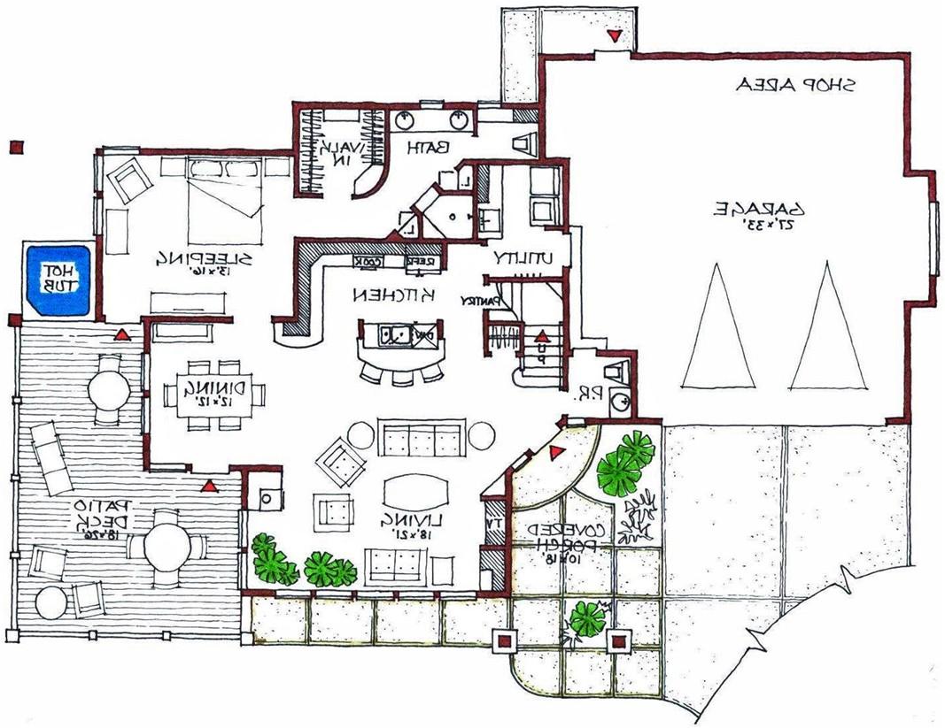 ultra modern house floor plans