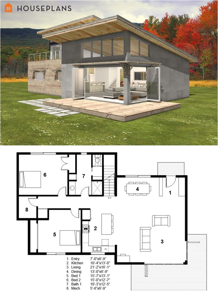 small contemporary house plans
