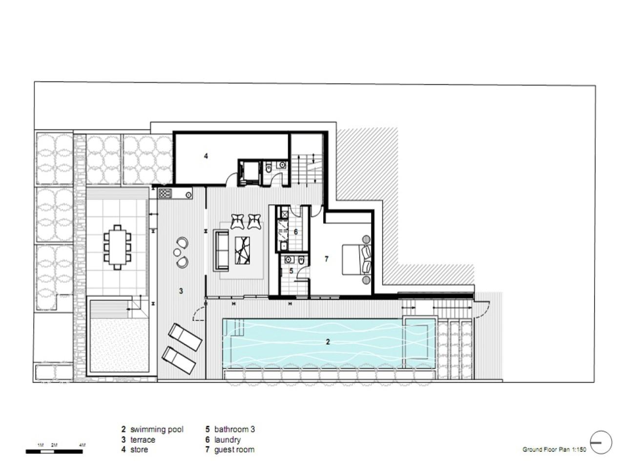 Contemporary Open Floor Plan House Designs Modern Open Floor House Plans Modern House Dining Room