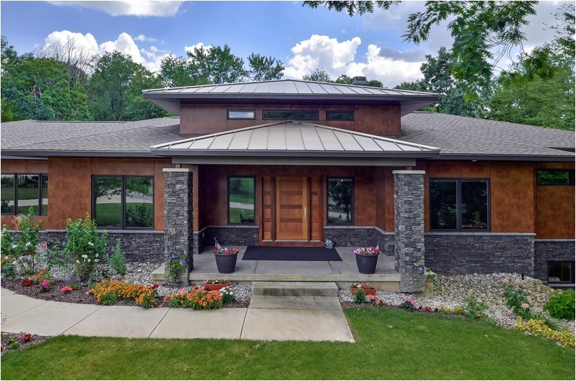 Contemporary Prairie Style Home Plans Modern Prairie Style House Plans 1045 Skyevale Ada Mi