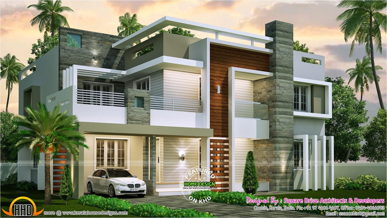 Contemporary Style Home Plans | plougonver.com