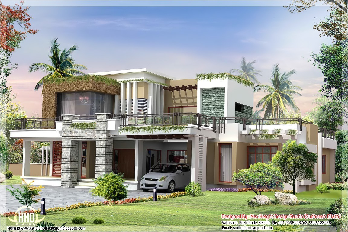 Contemporary Style Home Plans Modern Home Exterior Design Design