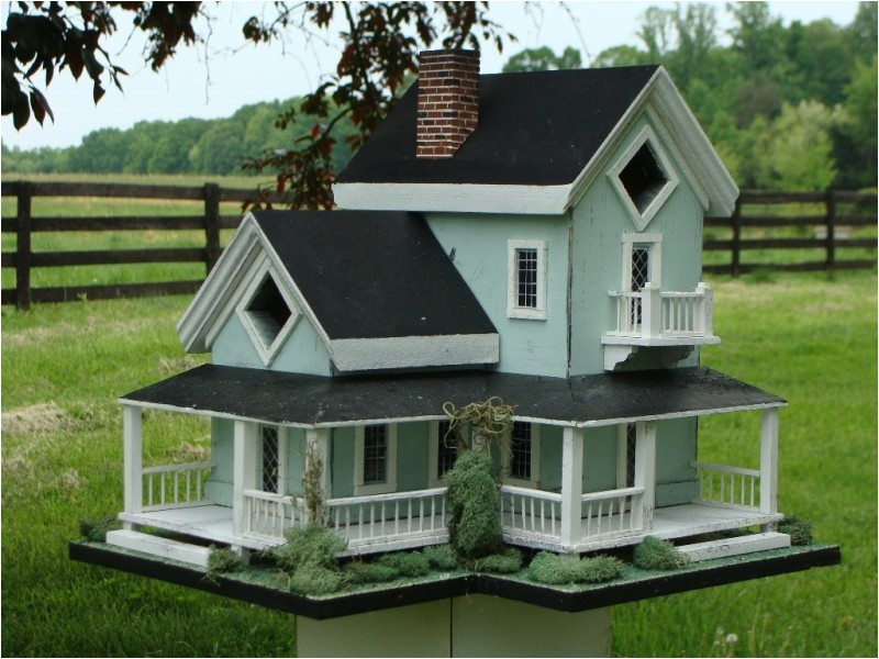 amish bird houses
