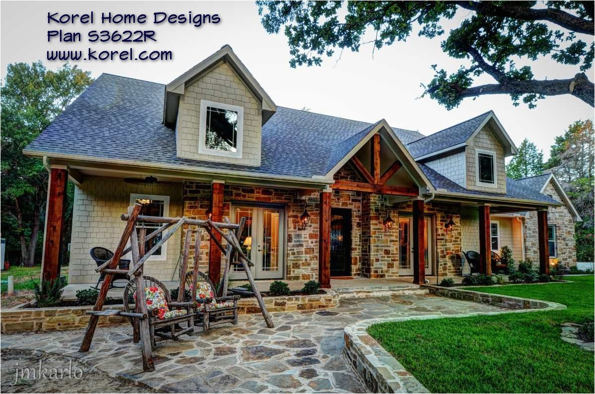 Country Home Plan Hill Country House Plans Hill Country Custom Home Builder