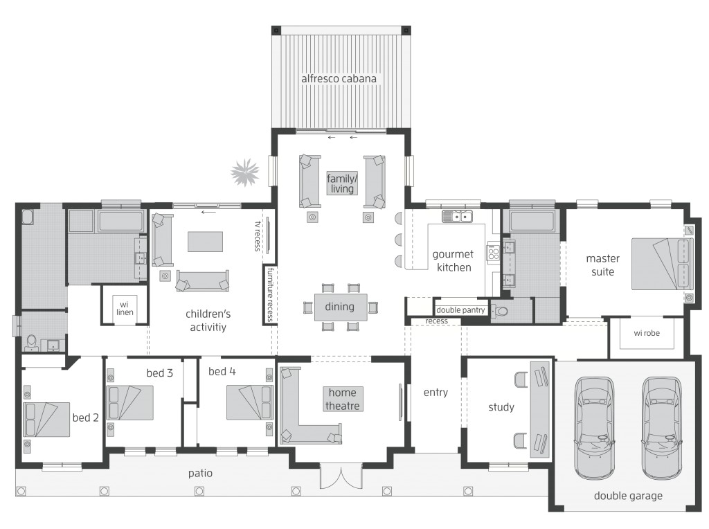 Country Style Home Floor Plans Country Home Floor Plans Australia Beautiful Home Design