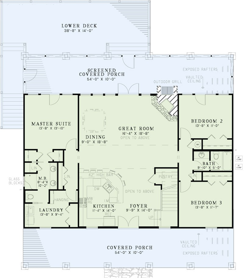 home plan 24718
