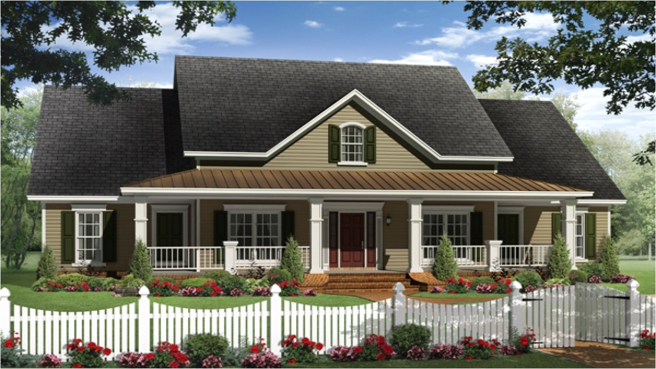 country western style home plans