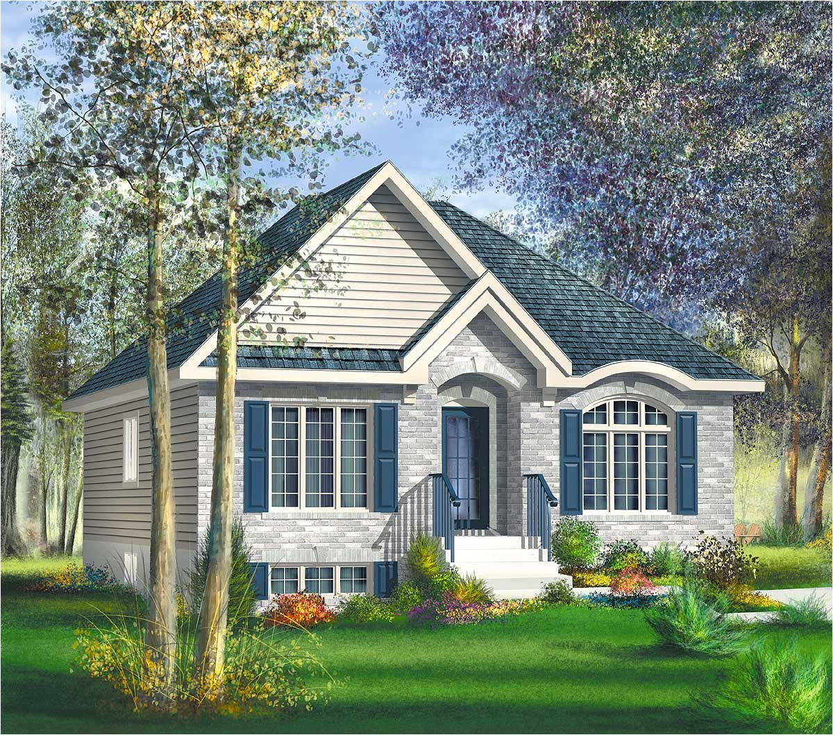 Cozy Cottage Home Plans Cozy Bungalow Cottage 80401pm Architectural Designs
