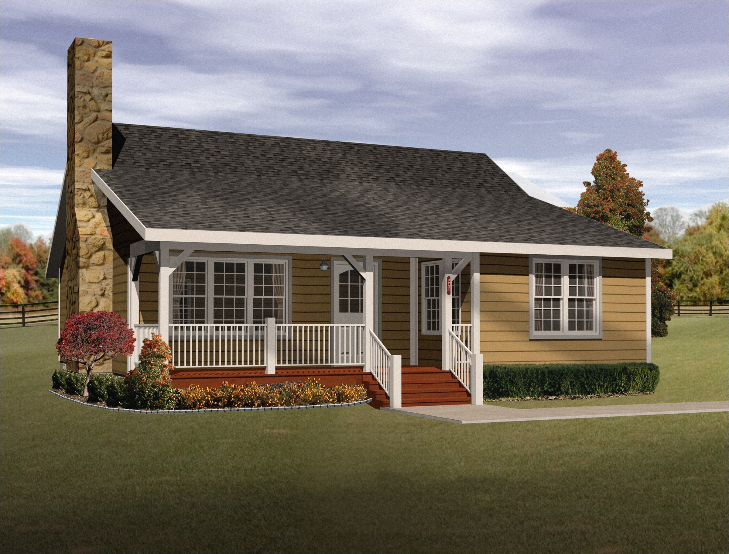 cozy cottage home plan 2256sl
