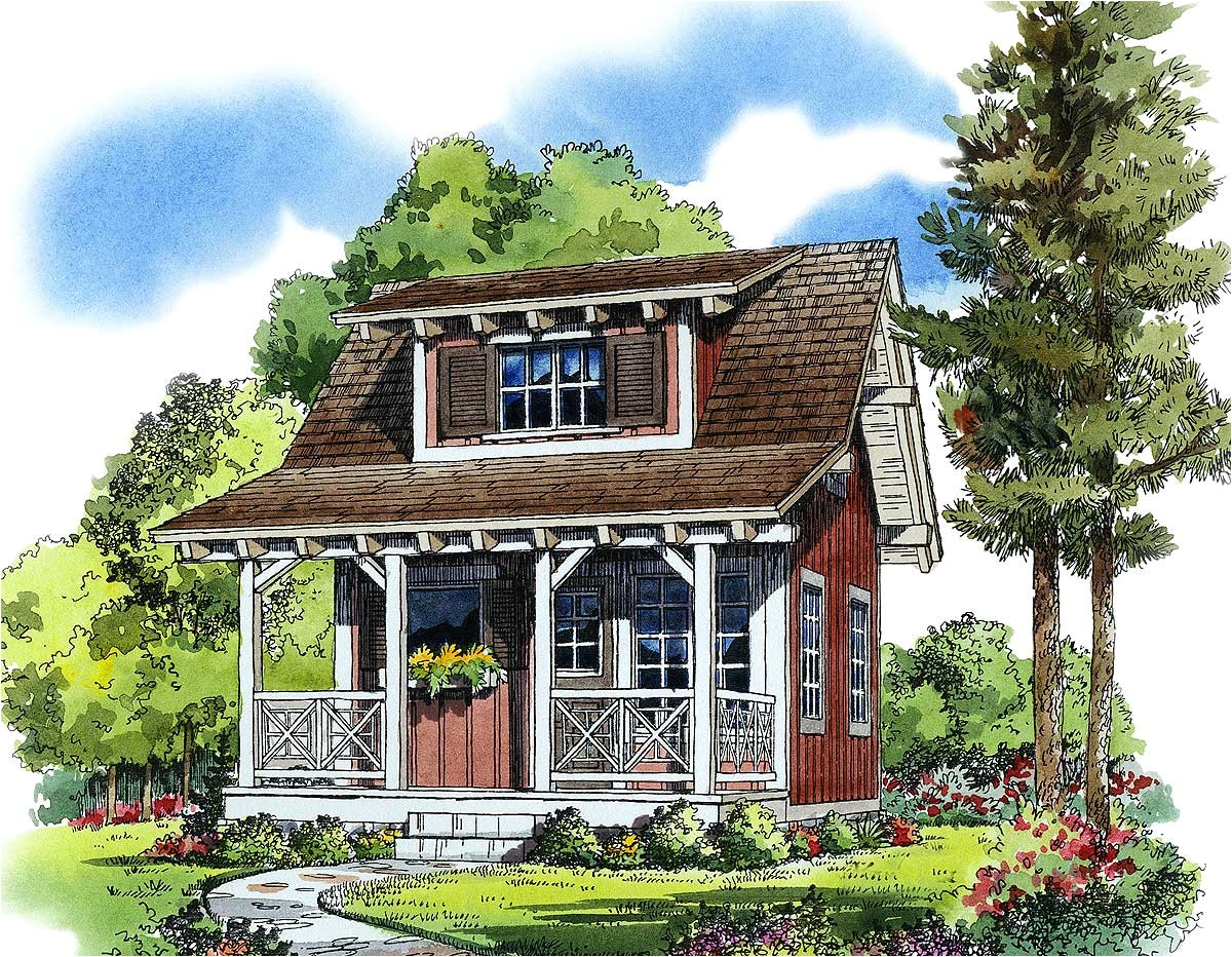 Cozy Cottage Home Plans Cozy Guest Cottage or Retreat 11537kn Architectural