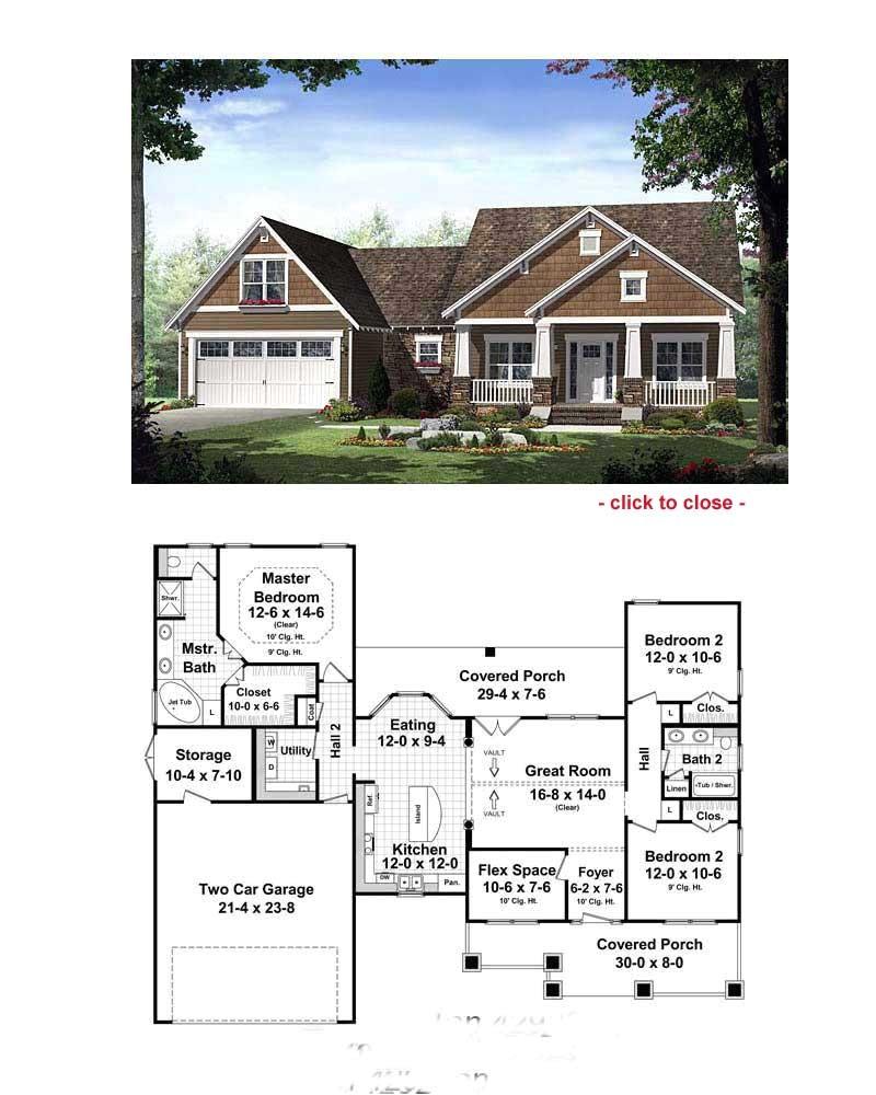 bungalows floor plans